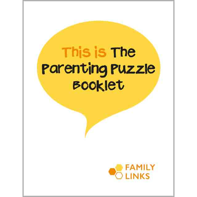 Family Links: Parenting Puzzle Booklet (available in 8 languages)