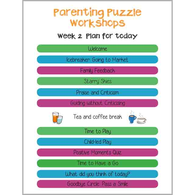 Family Links: Parenting Puzzle Workshops Boards (full)