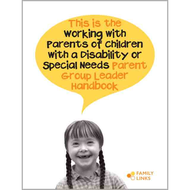 Family Links: Special Needs Handbook